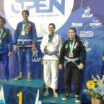 Atleta de Jiu-jitsu de Pombos se destaca em evento nacional