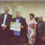 Radialista Alexandre Borges agora é cidadão de Limoeiro