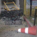 Torcida do Sport protesta depois de derrota e quebra vidros na Ilha do Retiro