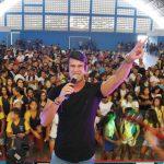 Festival agitou o Dia do Estudante em Pombos