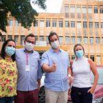 Túlio Gadêlha visita Hospital João Murilo e CAV, que receberam cerca de R$ 2 milhões em emendas
