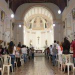 Com missa e hasteamento das bandeiras, católicos iniciam 396ª Festa do Padroeiro Santo Antão