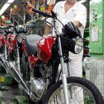 Produção de motocicletas cresce 45% no primeiro semestre de 2021