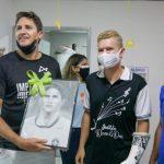 Pentacampeão Edmilson visita ações sociais no Recife e em Vitória em busca de talentos